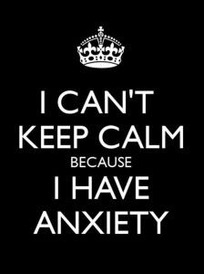 keep calm anxeity